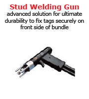 advanced solution for ultimate durability to fix tags securely on front side of bundle